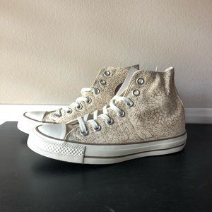 NWT Converse Sparkle Hi Top Size 6.5